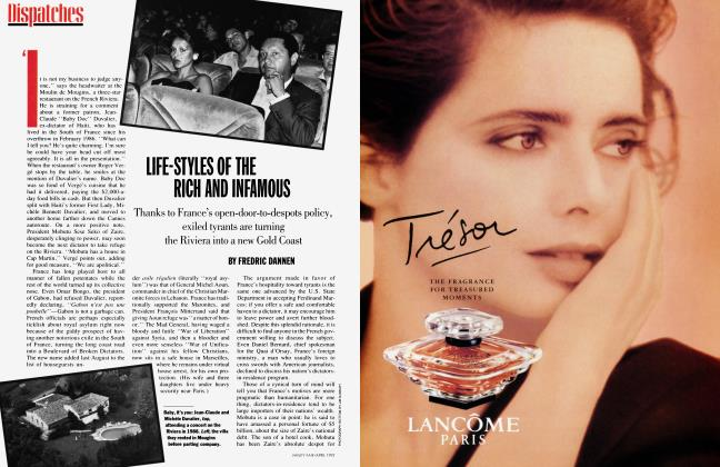 Article Preview: LIFE-STYLES OF THE RICH AND INFAMOUS, April 1992 | Vanity Fair