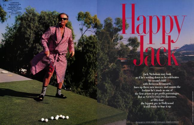 Article Preview: Happy Jack, April 1992 1992 | Vanity Fair