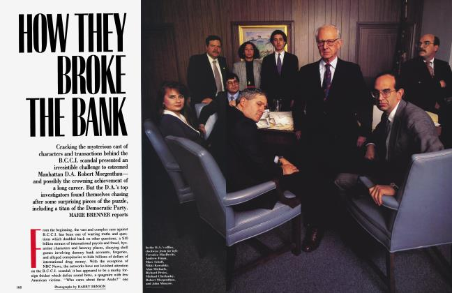 Article Preview: HOW THEY BROKE THE BANK, April 1992 1992 | Vanity Fair
