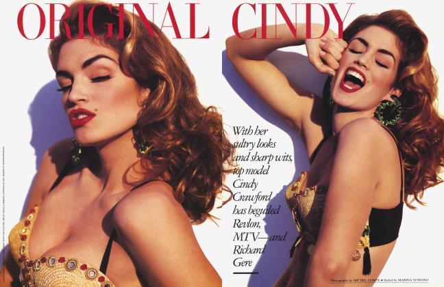 Article Preview: ORIGINAL CINDY, April 1992 1992 | Vanity Fair