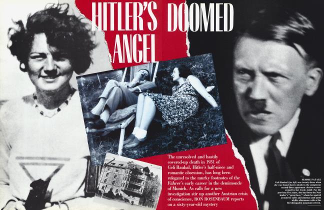 Article Preview: HITLER'S DOOMED ANGEL, April 1992 1992 | Vanity Fair