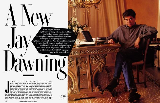 Article Preview: A New Jay Dawning, MAY 1992 1992 | Vanity Fair