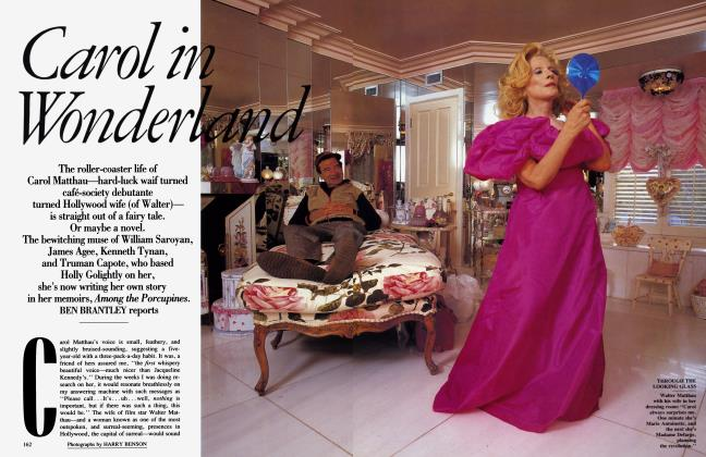 Article Preview: Carol in Wonderland, MAY 1992 1992 | Vanity Fair