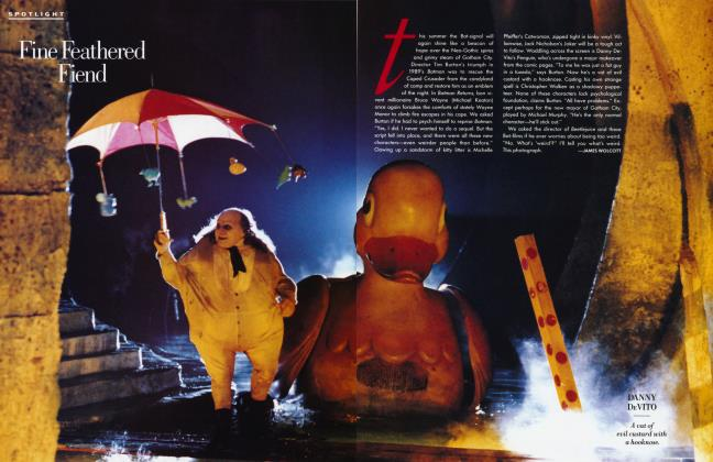 Article Preview: Fine Feathered Fiend, MAY 1992 1992 | Vanity Fair