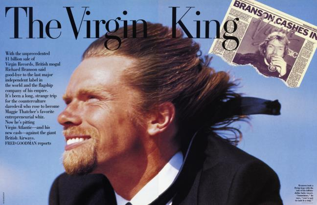 Article Preview: The Virgin King, MAY 1992 1992 | Vanity Fair