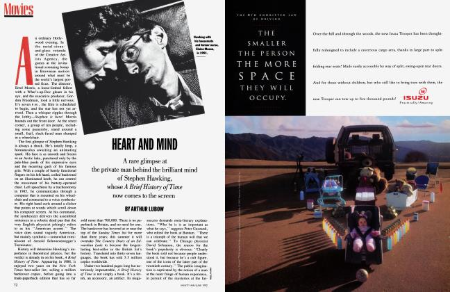Article Preview: HEART AND MIND, June 1992 1992 | Vanity Fair