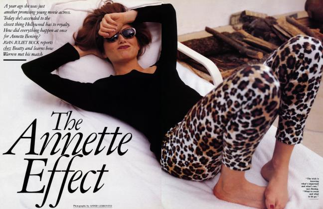 Article Preview: The Annette Effect, June 1992 1992 | Vanity Fair