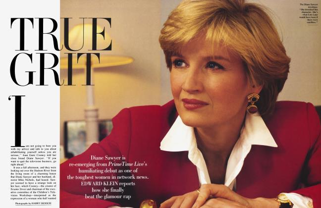 Article Preview: TRUE GRIT, June 1992 1992 | Vanity Fair