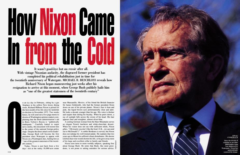 How Nixon Came In from the Cold