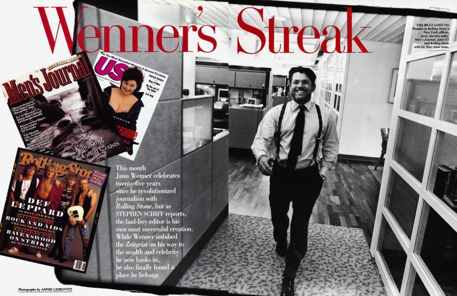 Wenner's Streak