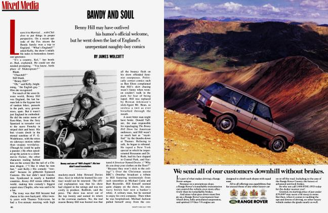 Article Preview: BAWDY AND SOUL, July 1992 1992 | Vanity Fair