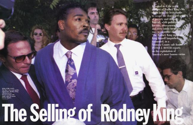 Article Preview: The Selling of Rodney King, July 1992 | Vanity Fair