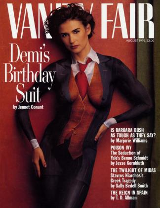 August 1992 | Vanity Fair