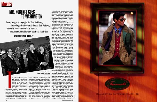 Article Preview: MR. ROBERTS GOES TO WASHINGTON, August 1992 1992 | Vanity Fair