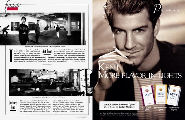 Article Preview: Art Beat, August 1992 1992 | Vanity Fair