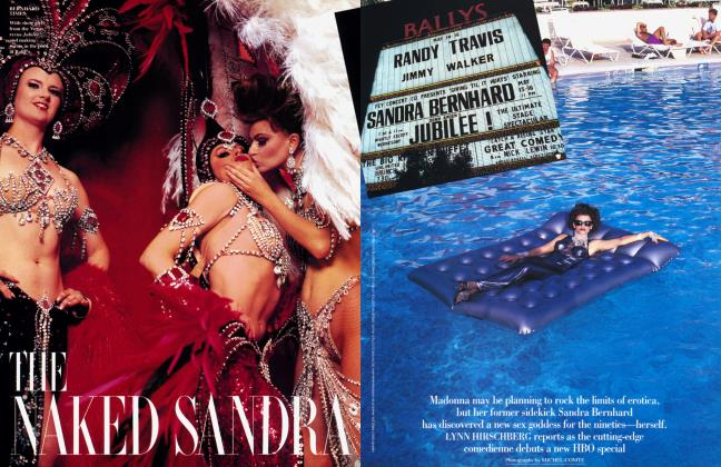 Article Preview: THE NAKED SANDRA, August 1992 1992 | Vanity Fair