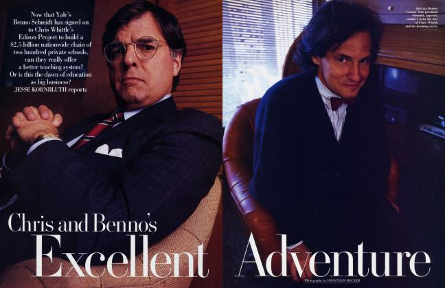 Article Preview: Chris and Benno's Excellent Adventure, August 1992 1992 | Vanity Fair