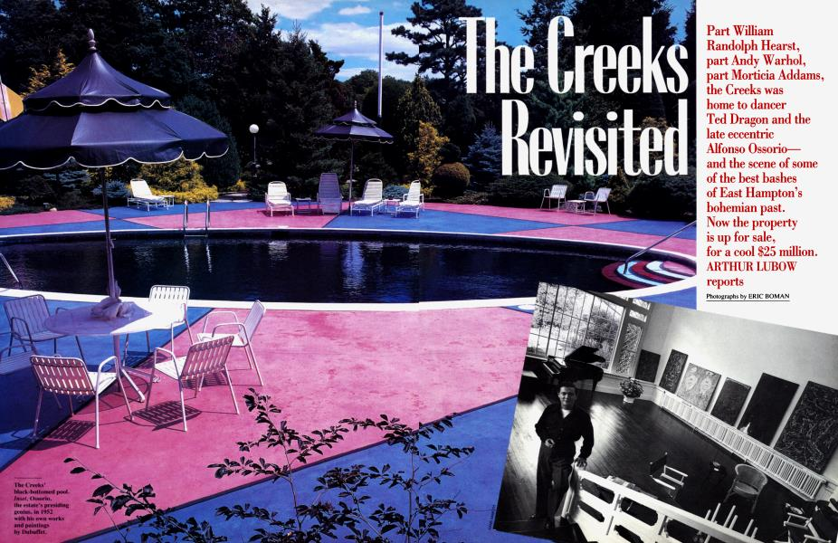 The Creeks Revisited