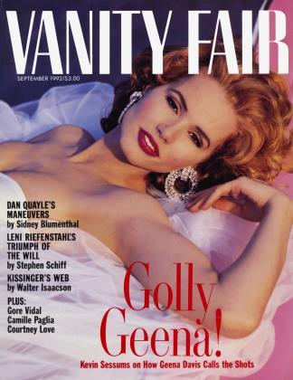 September 1992 | Vanity Fair