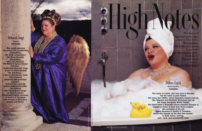 Article Preview: High Notes, September 1992 1992 | Vanity Fair