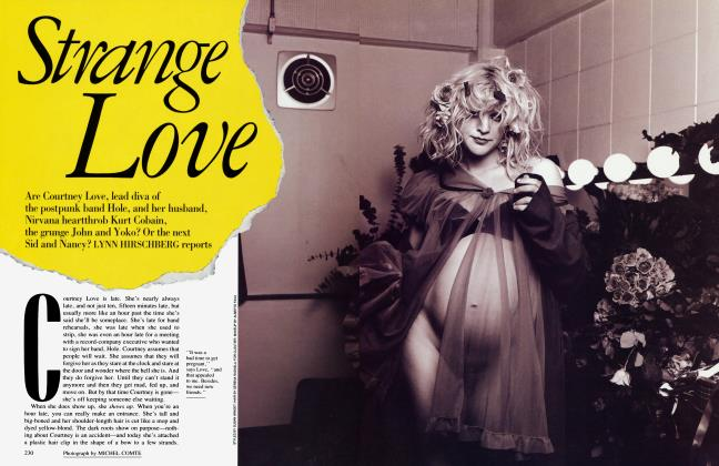 Article Preview: Strange Love, September 1992 | Vanity Fair