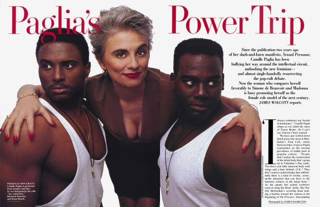 Article Preview: Paglia's Power Trip, September 1992 1992 | Vanity Fair