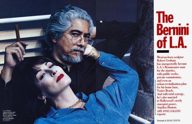 Article Preview: The Bernini of L.A., September 1992 1992 | Vanity Fair
