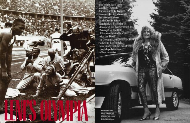 Article Preview: LENI'S OLYMPIA, September 1992 | Vanity Fair