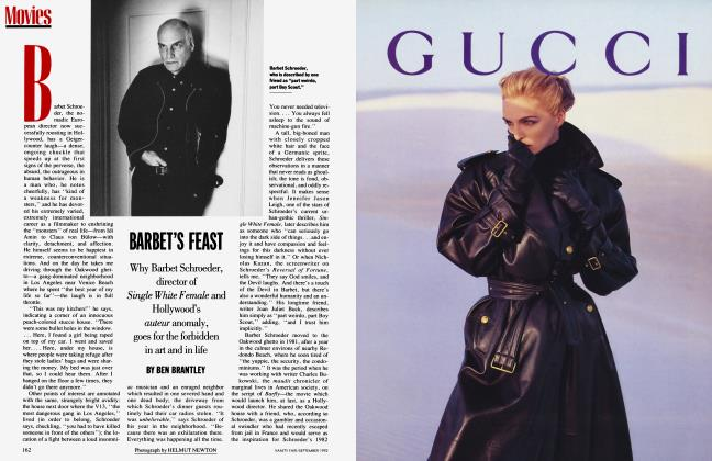 Article Preview: BARBET'S FEAST, September 1992 | Vanity Fair
