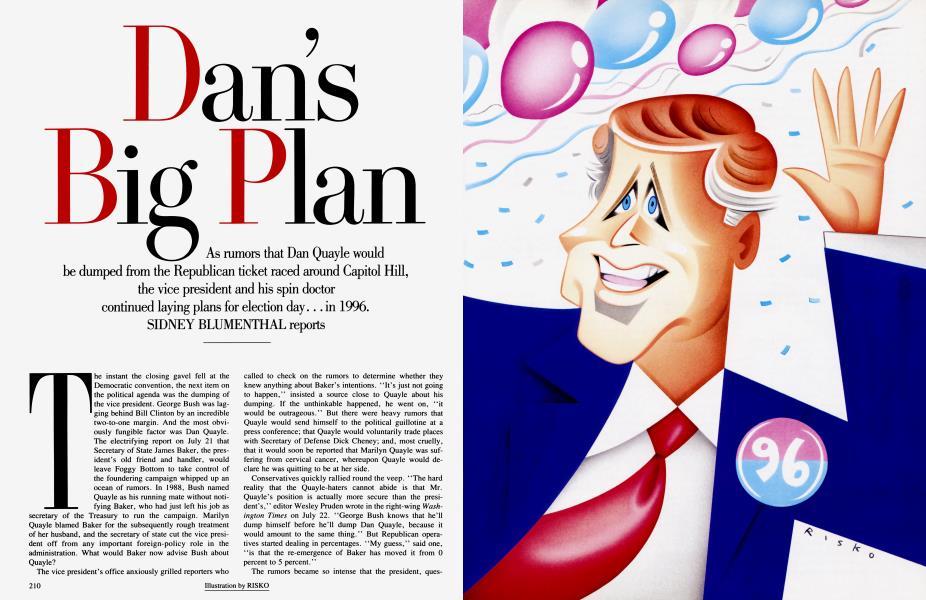 Dan's Big Plan