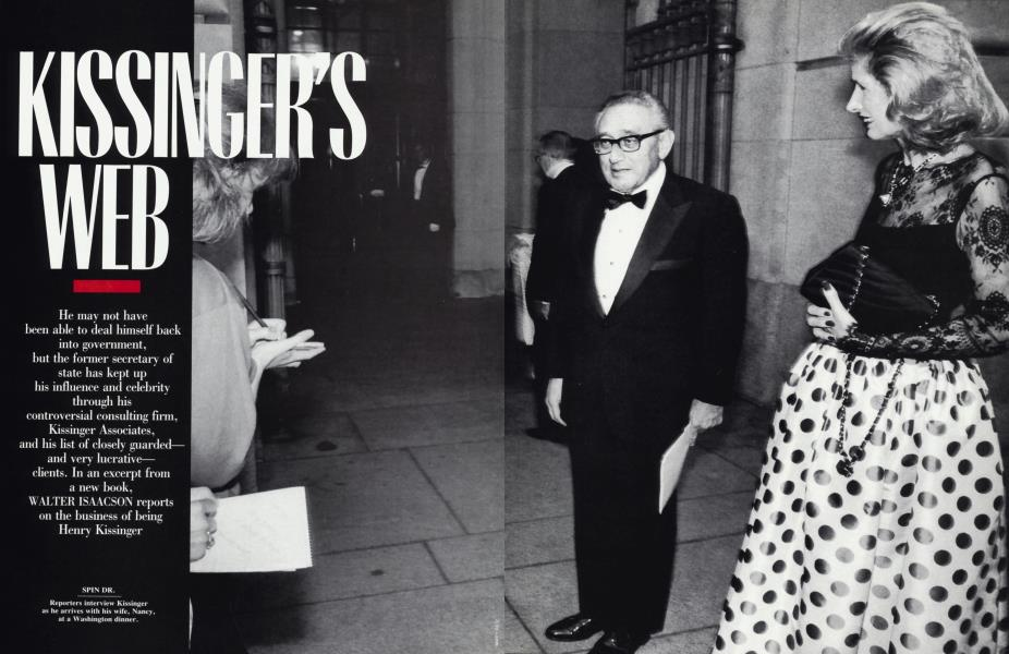 KISSINGER'S WEB