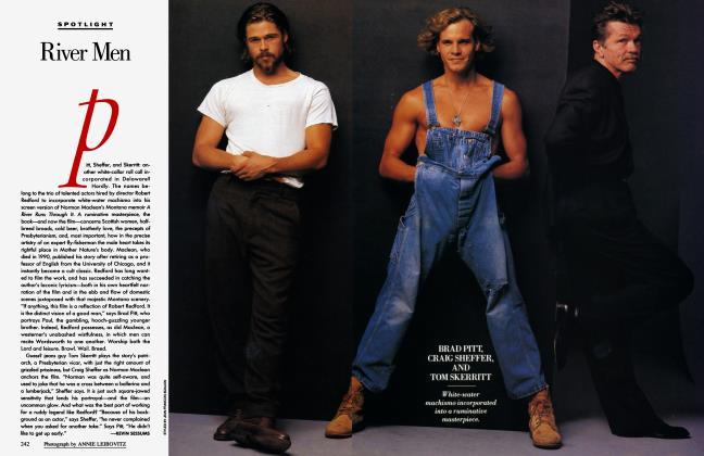 Article Preview: River Men, October 1992 1992 | Vanity Fair