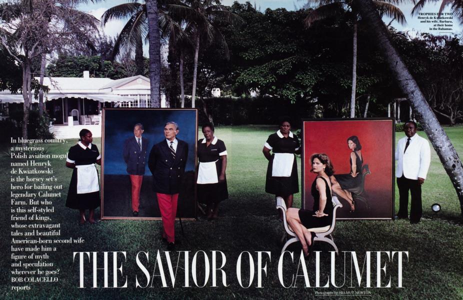 THE SAVIOR OF CALUMET