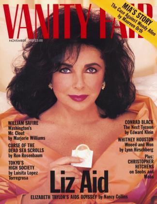 November 1992 | Vanity Fair
