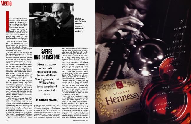 Article Preview: SAFIRE AND BRIMSTONE, November 1992 1992 | Vanity Fair