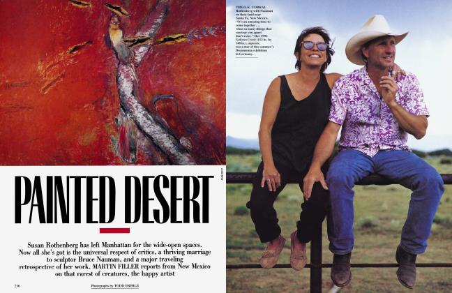 Article Preview: PAINTED DESERT, December 1992 1992 | Vanity Fair