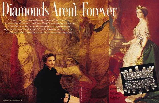 Article Preview: Diamonds Aren't Forever, December 1992 1992 | Vanity Fair