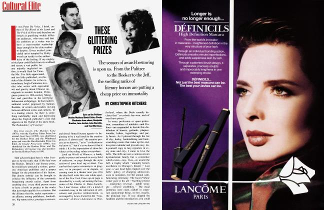 Article Preview: THESE GLITTERING PRIZES, January 1993 1993 | Vanity Fair