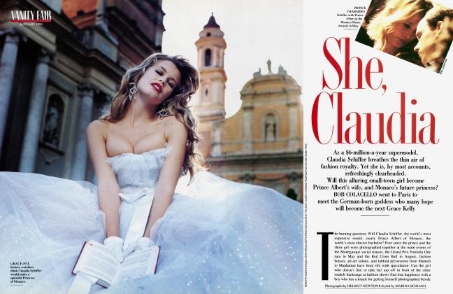Article Preview: She, Claudia, January 1993 1993 | Vanity Fair