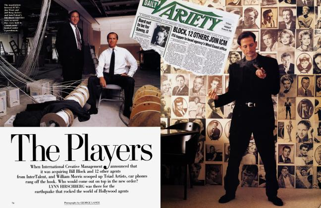 Article Preview: The Players, January 1993 1993 | Vanity Fair