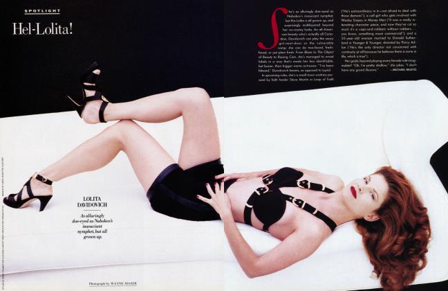 Article Preview: Hel-Lolita!, January 1993 1993 | Vanity Fair