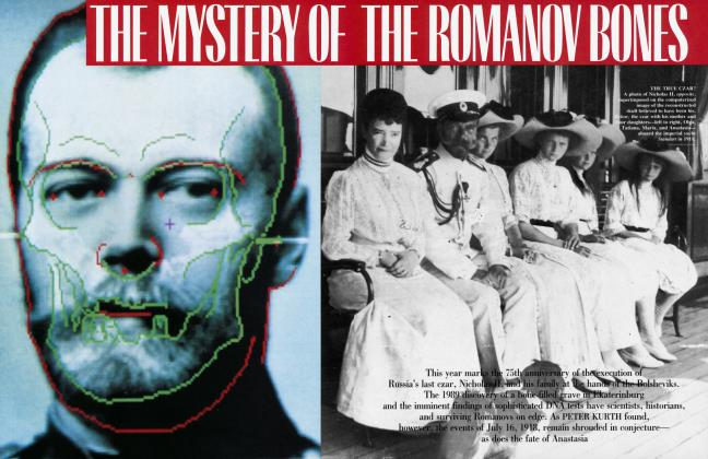 Article Preview: THE MYSTERY OF THE ROMANOV BONES, January 1993 1993 | Vanity Fair
