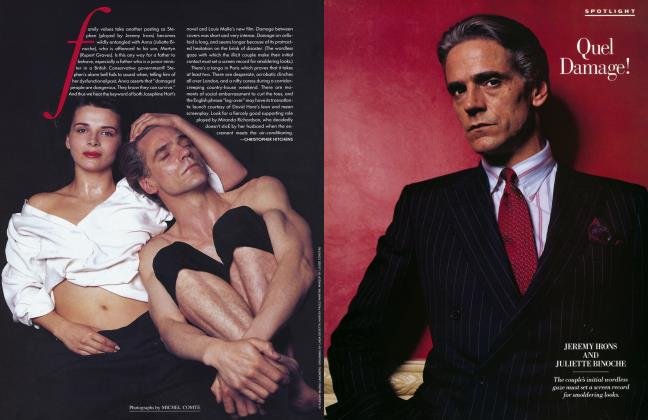 Article Preview: Quel Damage!, January 1993 1993 | Vanity Fair