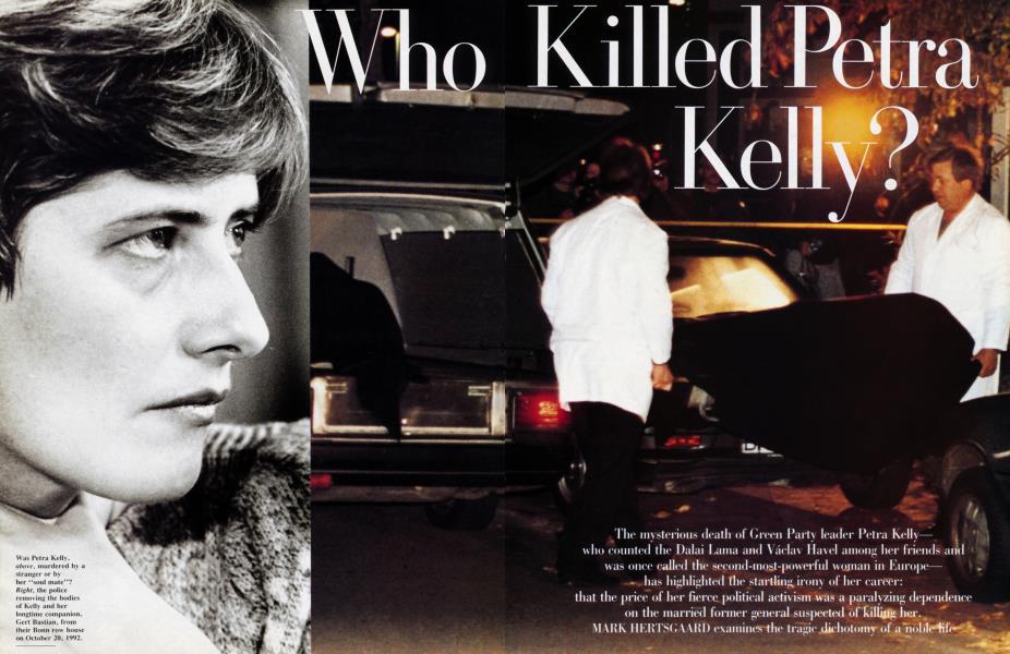 Who Killed Petra Kelly?