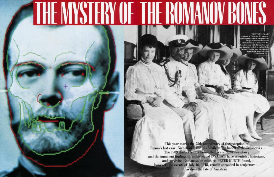 THE MYSTERY OF THE ROMANOV BONES