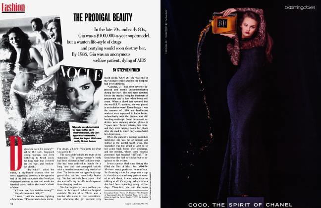 Article Preview: THE PRODIGAL BEAUTY, February 1993 | Vanity Fair