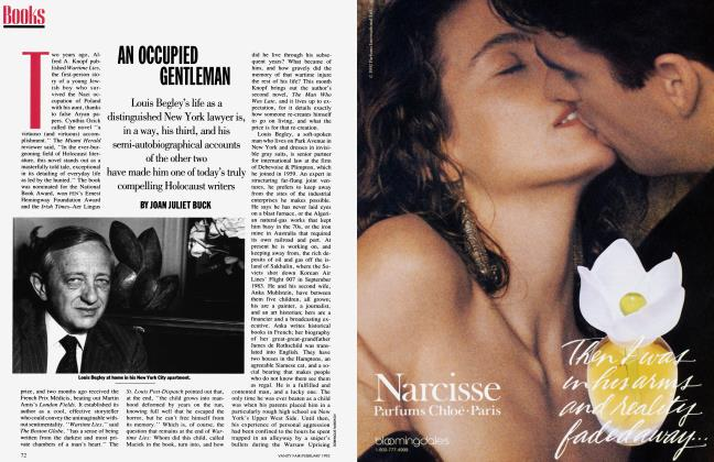 Article Preview: AN OCCUPIED GENTLEMAN, February 1993 | Vanity Fair