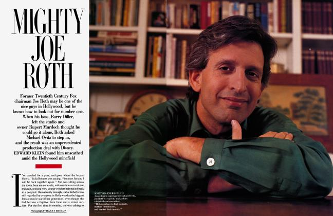 Article Preview: MIGHTY JOE ROTH, February 1993 | Vanity Fair