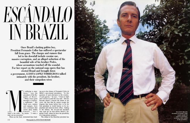 Article Preview: ESCÂNDALO IN BRAZIL, February 1993 1993 | Vanity Fair