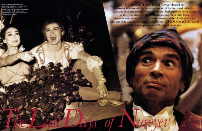 Article Preview: The Last Days of Nureyev, March 1993 1993 | Vanity Fair